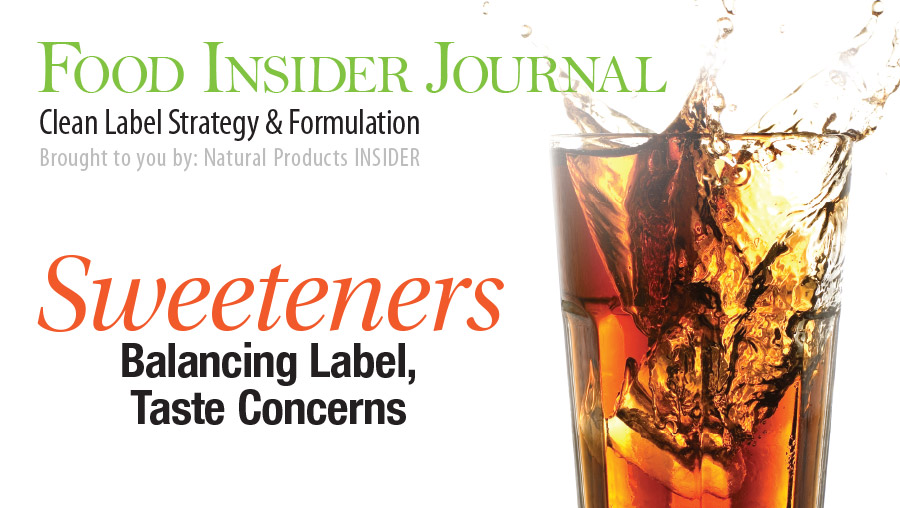Sweeteners: Balancing Label, Taste Concerns
