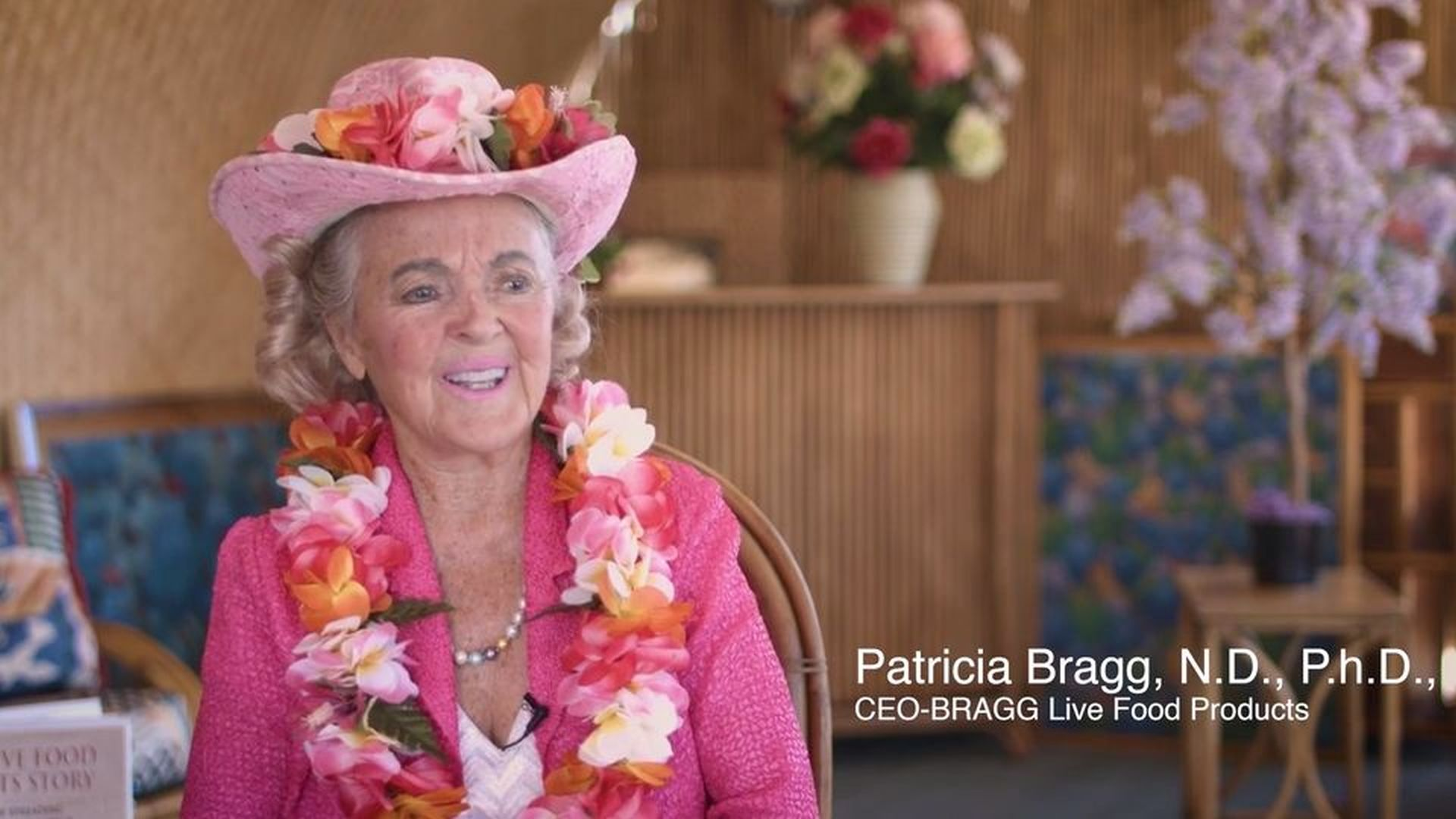 Video: Bragg's Philosophy 'Eating Well, Living Well' Devoted to Customers