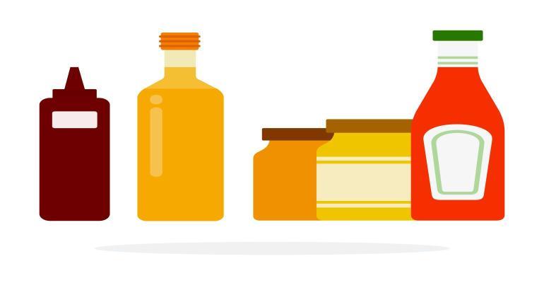ECA condiments