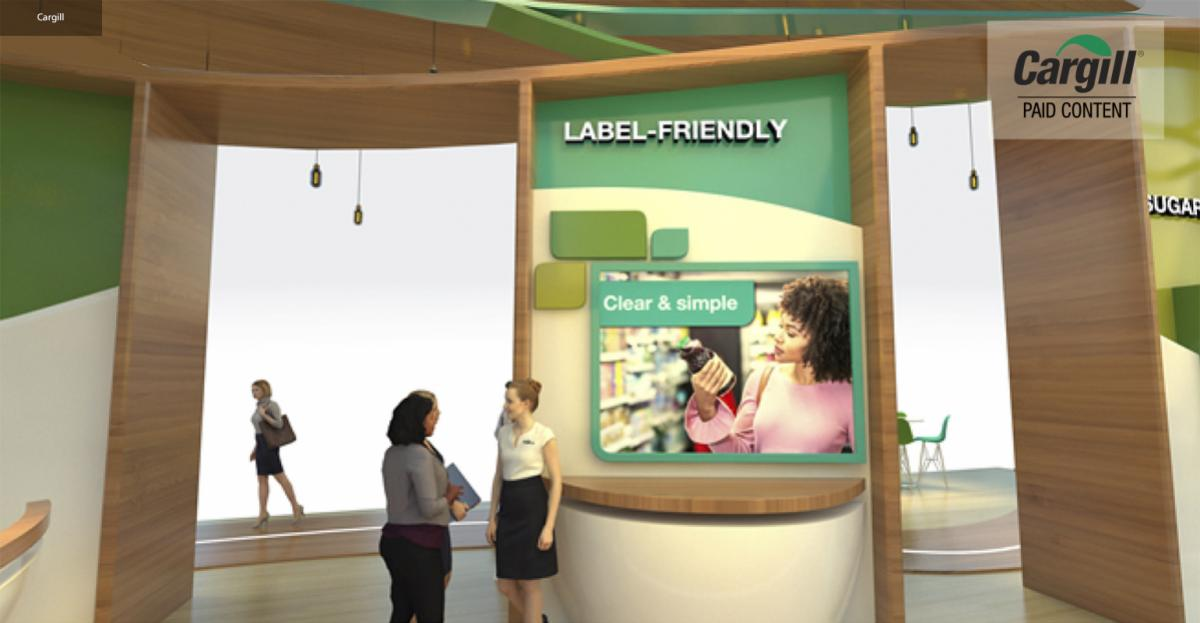 Label-friendly strategies food and beverage product success – infographic