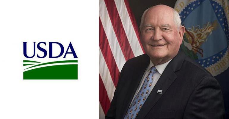 Secretary Perdue Takes Helm of USDA