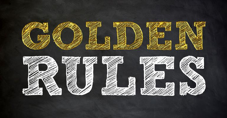 Golden Rules, Co-packing