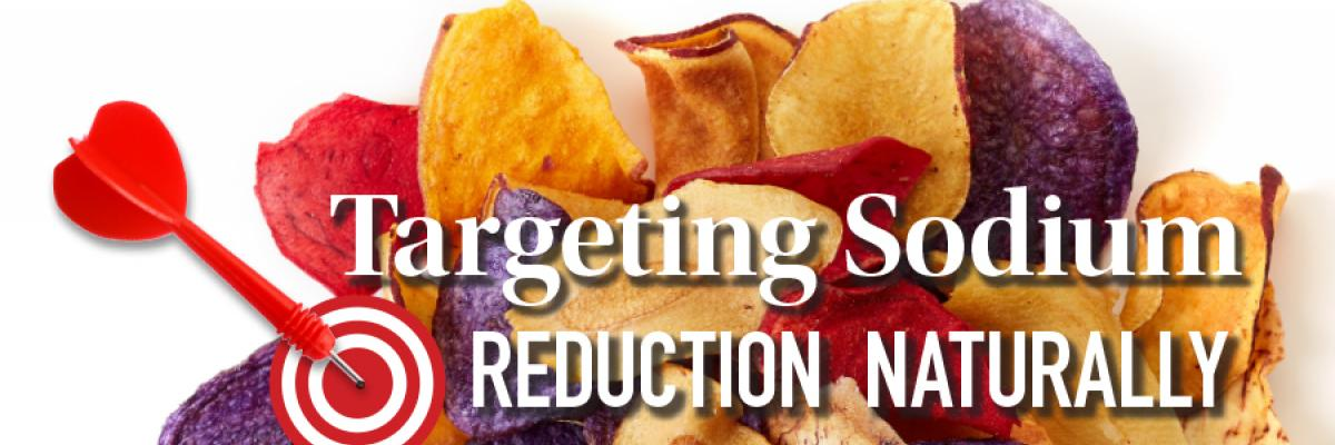 Targeting Sodium Reduction Naturally