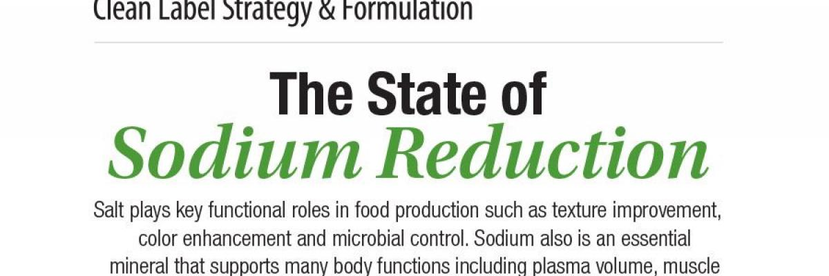 Infographic: The State of Sodium Reduction