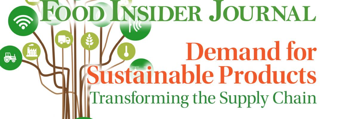 Demand for sustainable products transforming the supply chain
